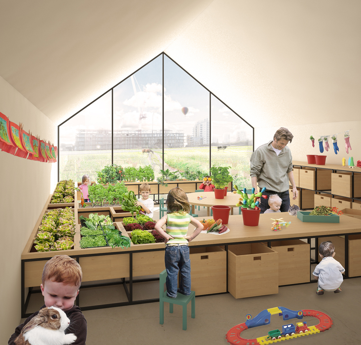 L'educazione bambino secondo Maria Montessori.