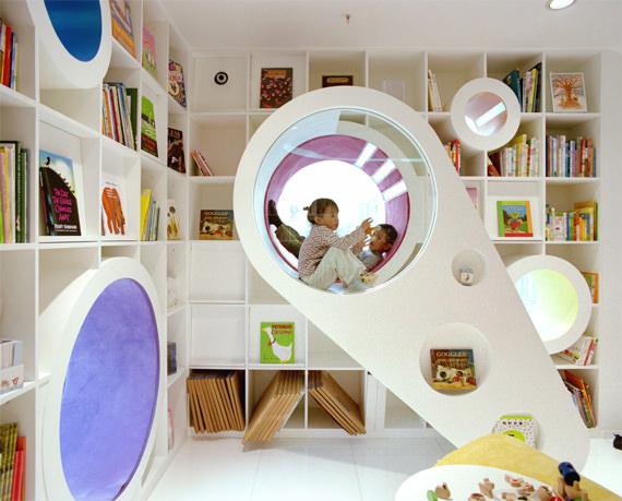 Angolo Lettura Per Bambini : Le biblioteche per bambini più magiche del mondo