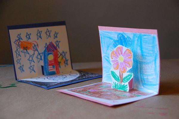 Conosciuto Come creare biglietti d'auguri con i bambini WE82