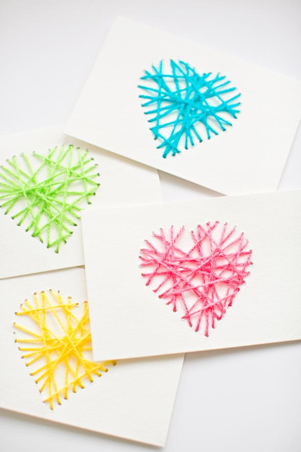 Amato Come creare biglietti d'auguri con i bambini UR58