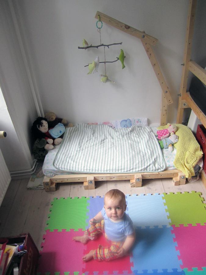 Come creare una cameretta montessori - Sbarra letto ikea ...