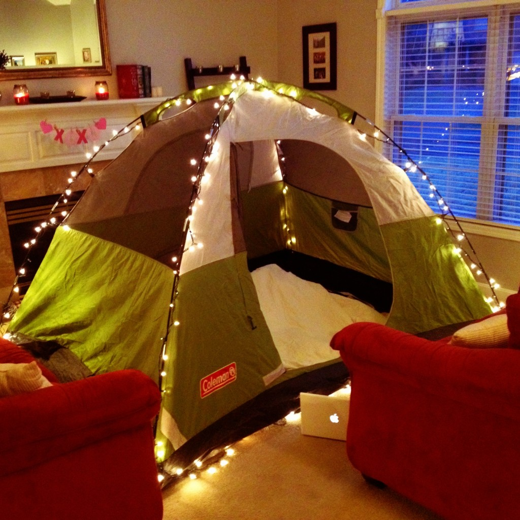 Idee Tende Da Salotto come realizzare il campeggio perfetto in salotto