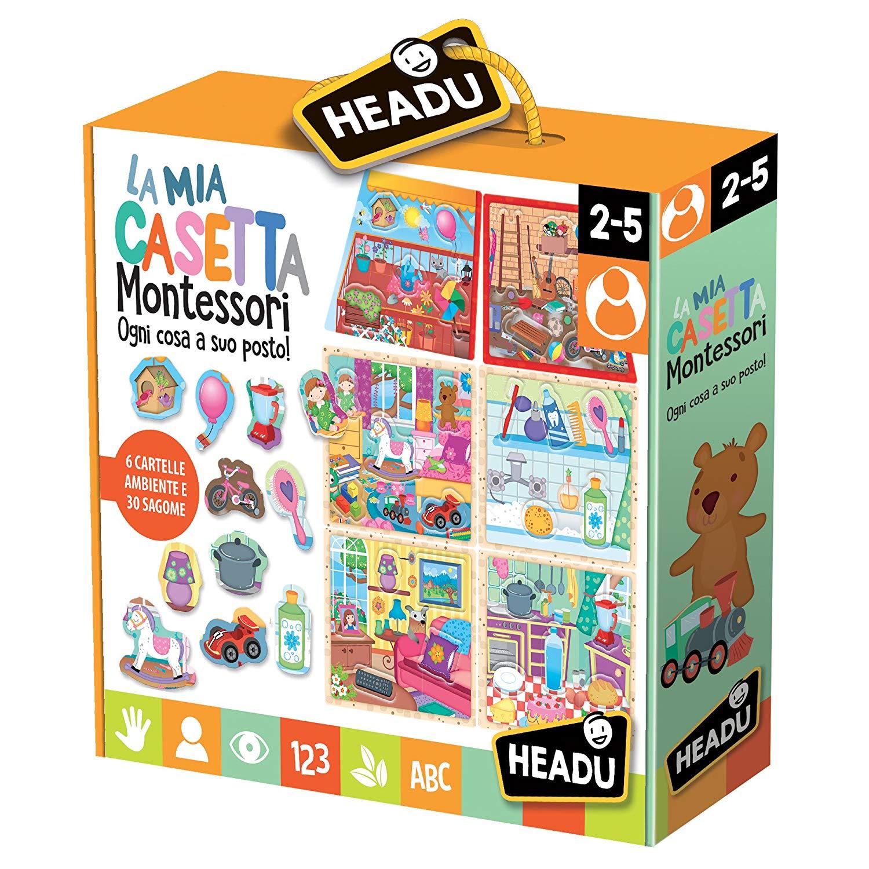 5 idee di giochi Montessori per bambini di 2 anni