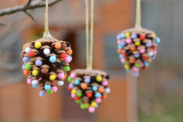 Decorazioni Per Casa Di Natale : Decorazioni naturali per lalbero di natale da fare con i bambini