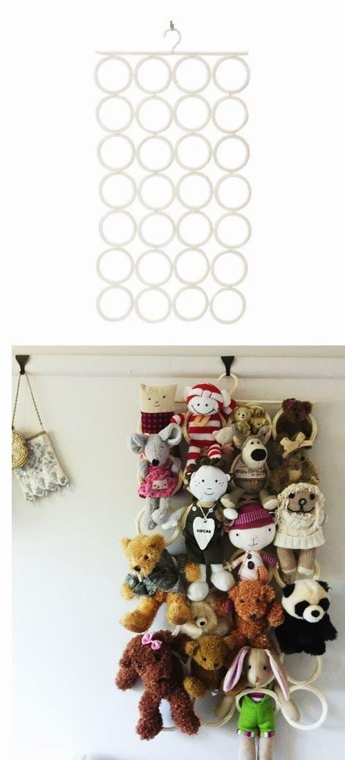 9 idee per tenere i giocattoli in ordine - Porta giocattoli ikea ...
