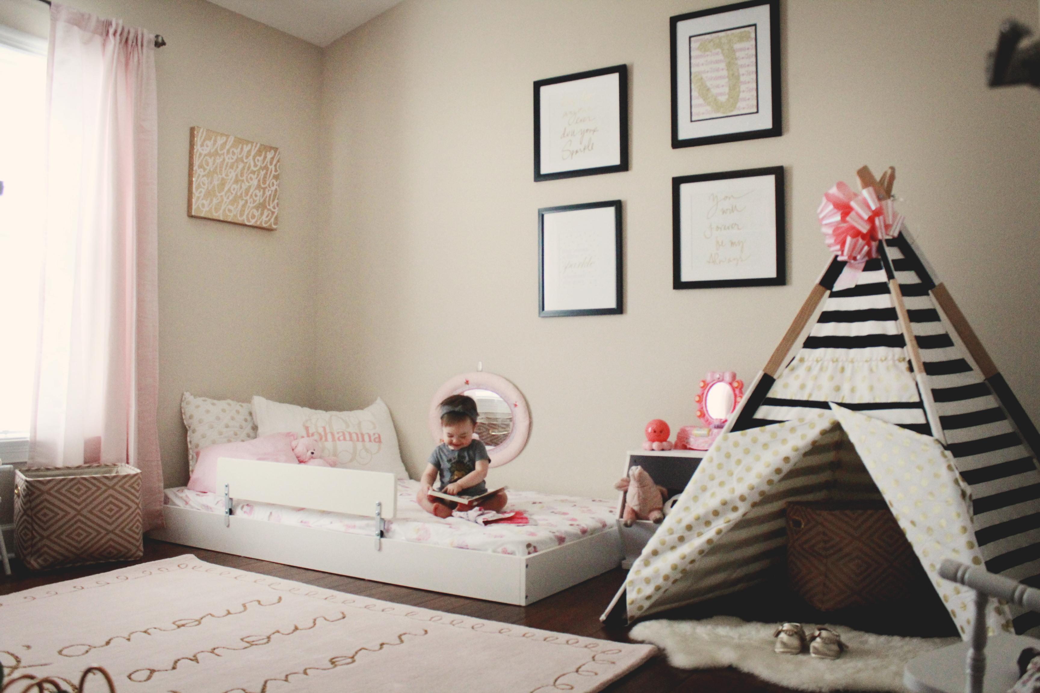 Letto Per Bambini Montessori : Camerette montessori a cui ispirarsi