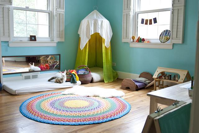 Cameretta Neonato Montessori : Camerette montessori a cui ispirarsi
