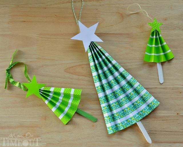 Fare Ventagli Di Carta.Un Natale Di Carta Le Decorazioni I Lavoretti Con I Bambini