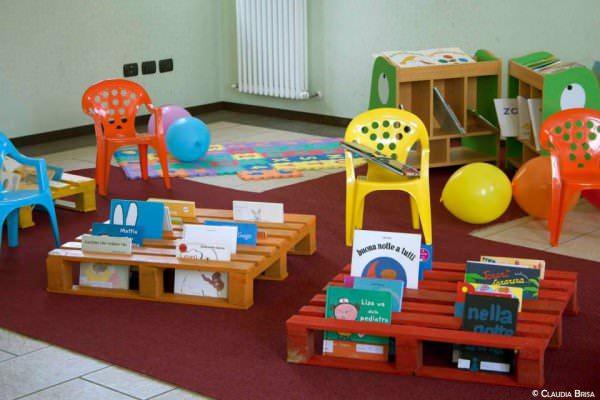Mobili Per Giochi Bambini : Idee per usare i pallet con i bambini