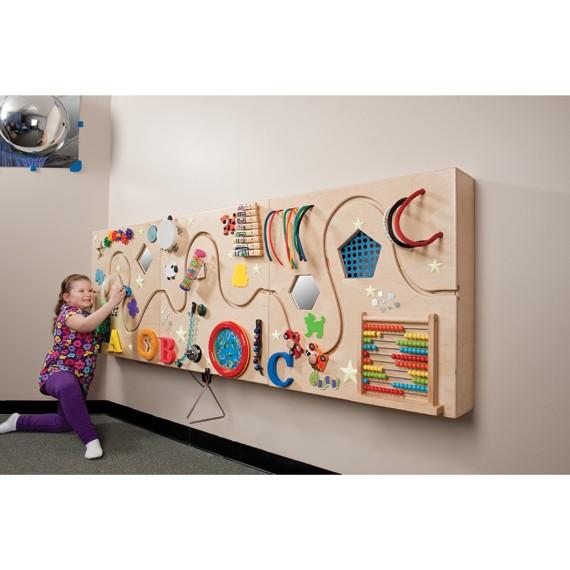 Come trasformare un muro spoglio in una parete gioco montessori - Gioco da tavola bring the noise ...
