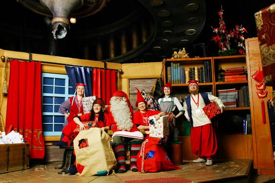 Casa Babbo Natale Rovaniemi Finlandia.Il Santa Claus Village In Finlandia
