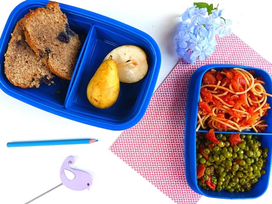 Idee Per Pranzi Sani : Idee di lunch box veg per la scuola dei bambini
