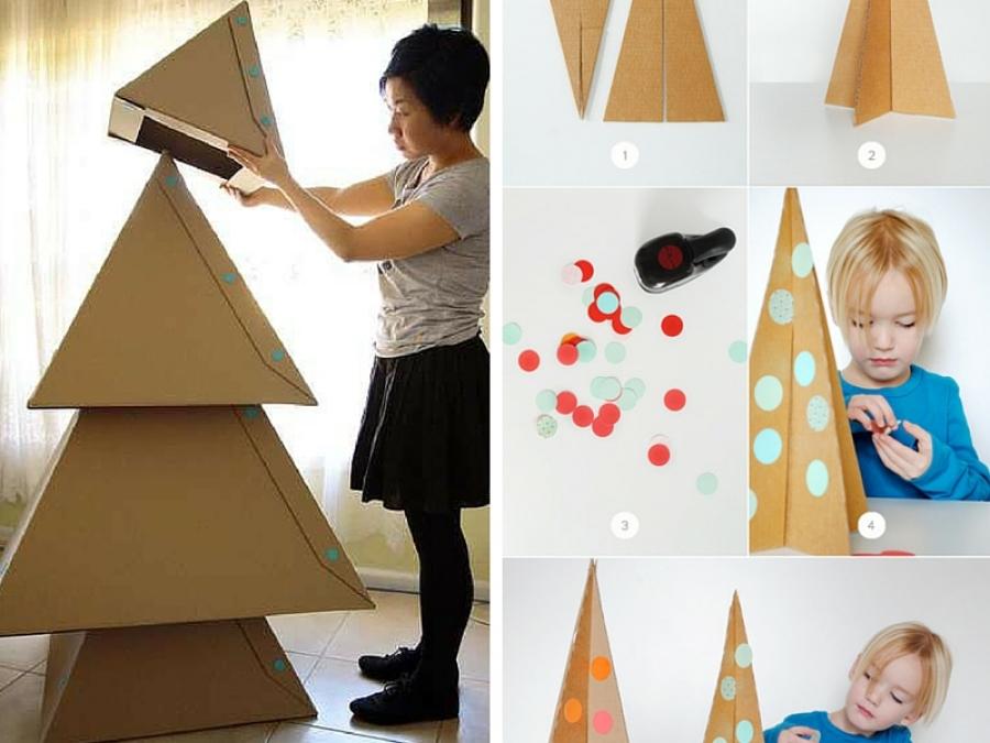 Albero Di Natale Per Bambini Piccoli.7 Alberi Di Natale Alternativi Da Fare Insieme Ai Bimbi