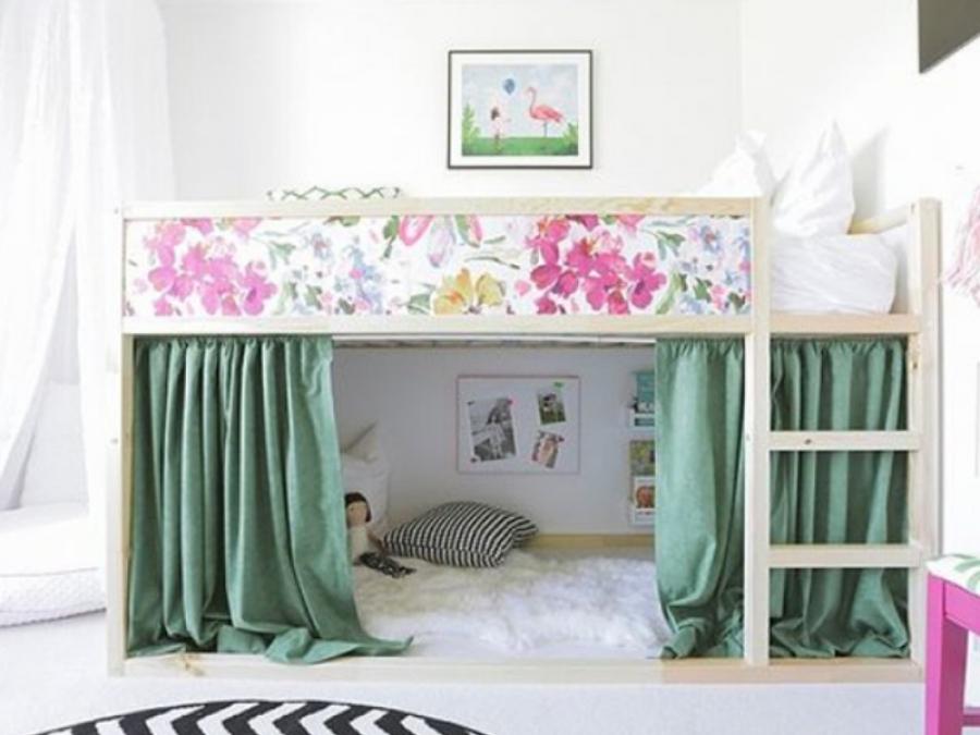 Ikea hack per la cameretta o come trasformare i mobili ikea per bambini in qualcosa di magico - Mobili cameretta ikea ...
