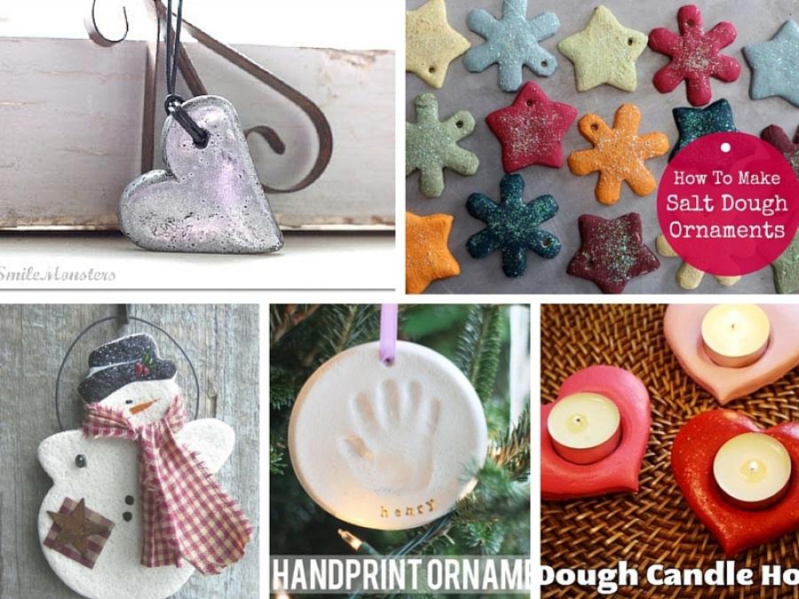 Lavoretti Di Natale Con I Bambini.10 Regali Di Natale Con La Pasta Di Sale Da Fare Con I Bambini