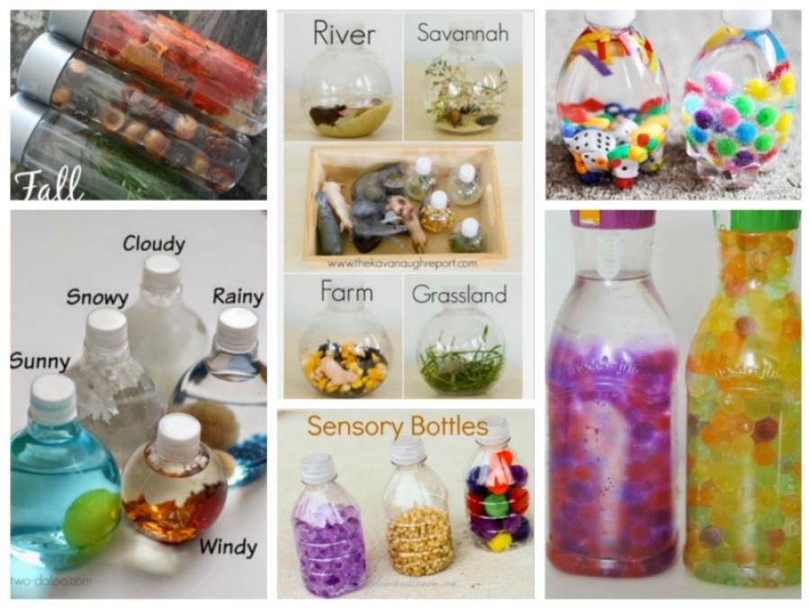 Favoloso Le 8 bottiglie sensoriali più belle e creative GJ18