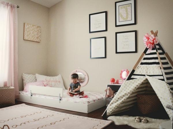 10 camerette montessori a cui ispirarsi - Lettini camerette per bambini ...