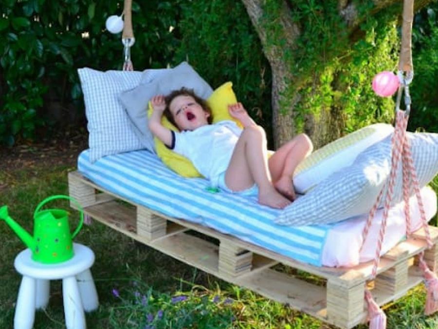 10 Idee Per Usare I Pallet Con I Bambini