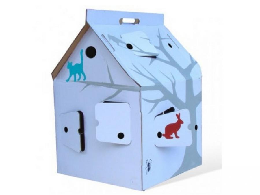 Giocare con le casette di cartone dove comprarle e come - Casette di cartone da costruire ...