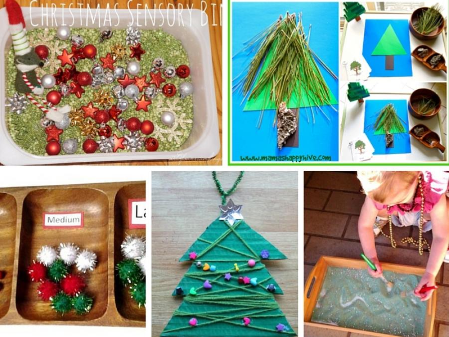 Molto 6 attività per bambini Montessori da fare per Natale OL61