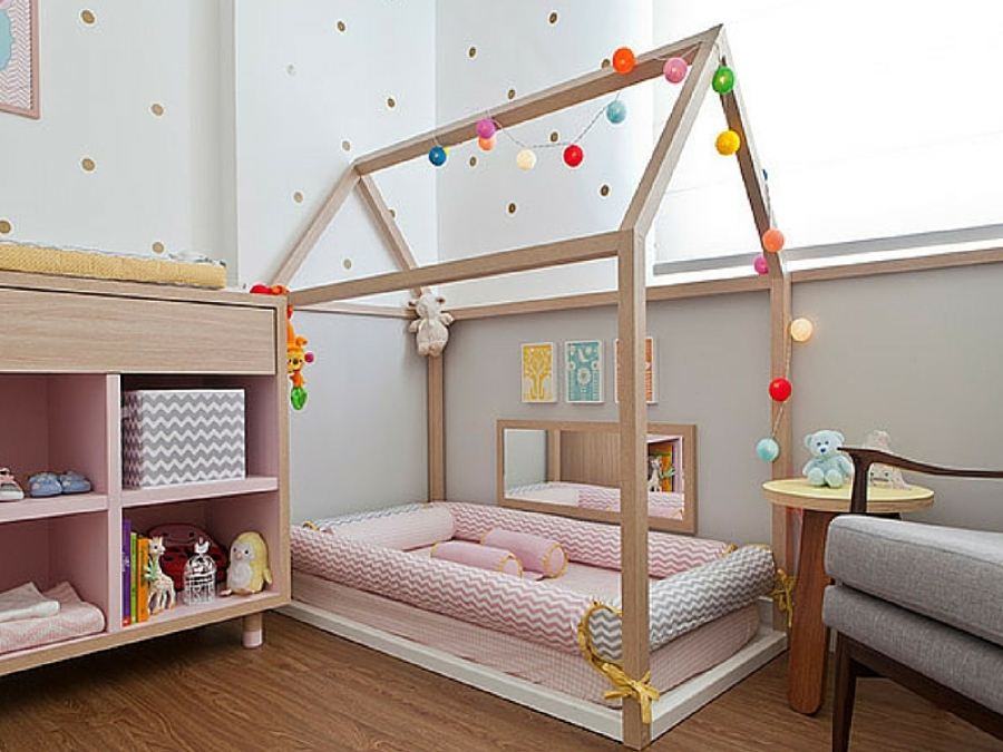 La cameretta del bambino tra 0 e 6 mesi secondo Montessori