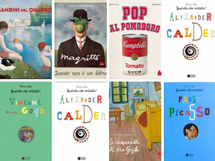 Amato 8 libri di storia dell'arte per bambini IG42