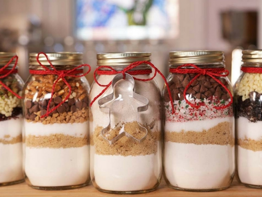I biscotti nel barattolo il regalo di natale economico e for Regalo di natale originale