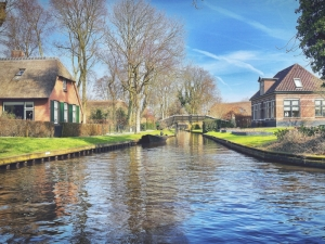 Giethoorn, il paese senza strade