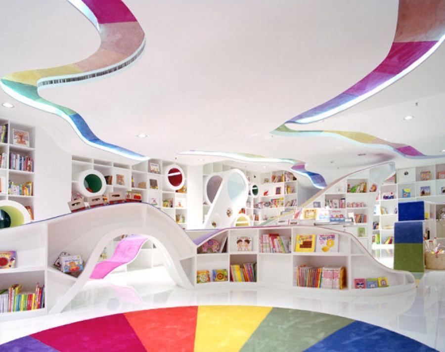 Le biblioteche per bambini pi magiche del mondo for Immagini del mondo per bambini