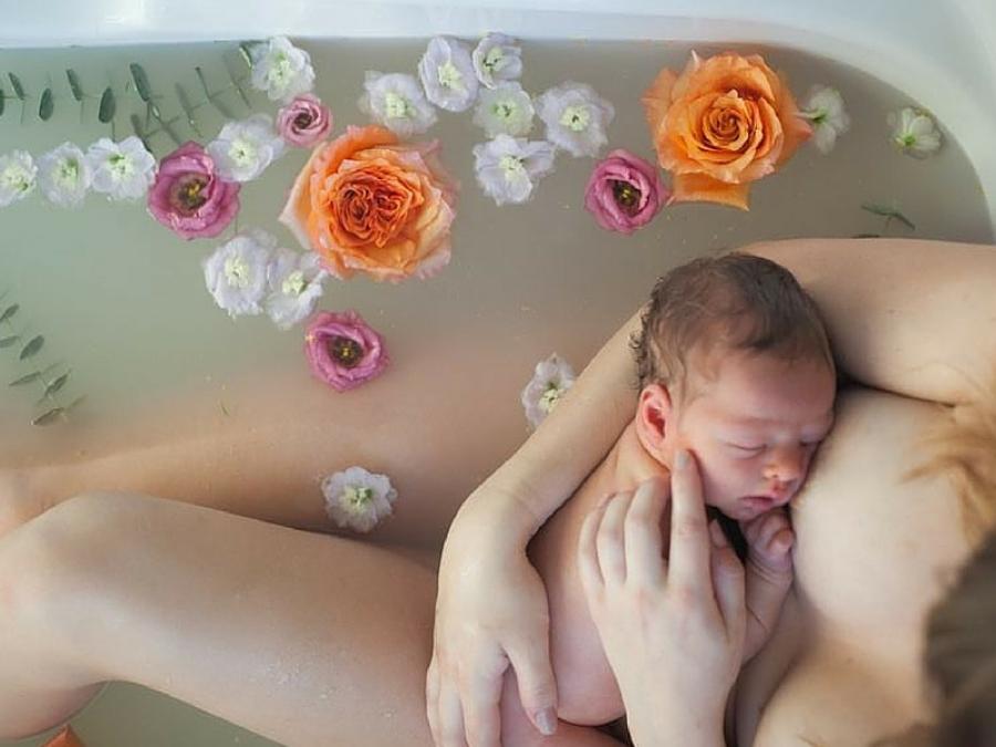 Vasca Da Bagno Gravidanza : Il bagno botanico unidea bellissima per fotografie meravigliose