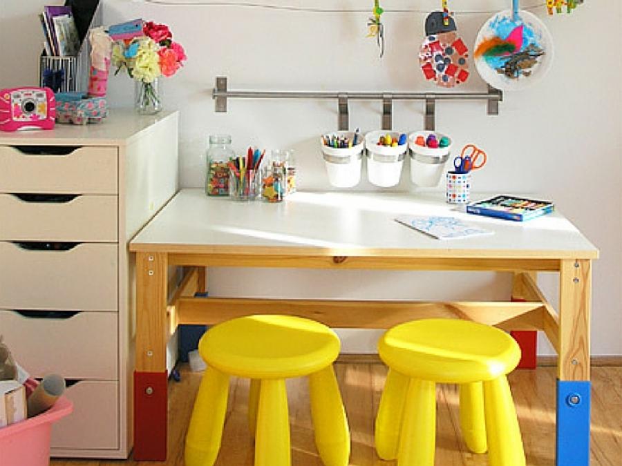 Connu 9 idee per realizzare spazi artistici per bambini in casa LG95