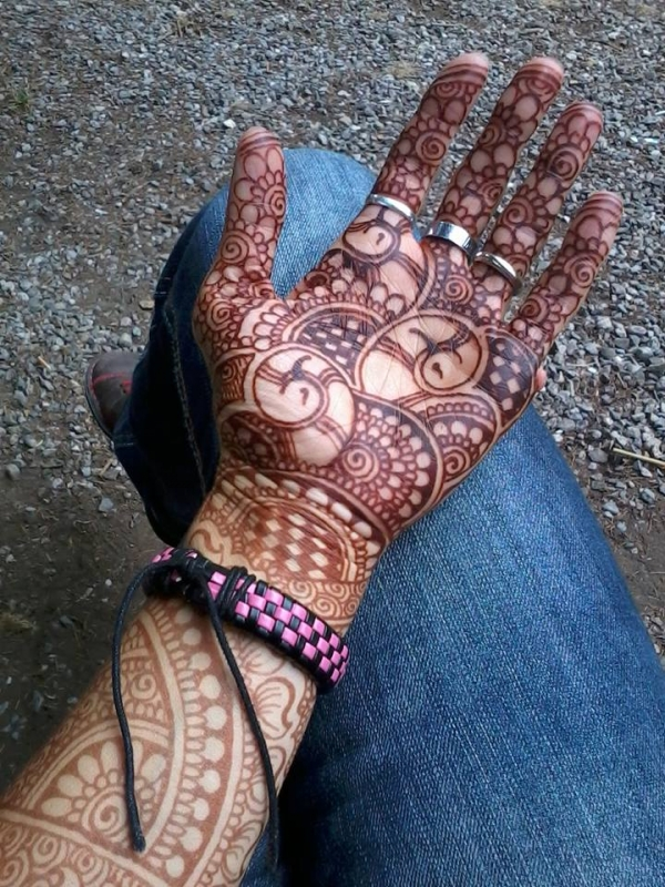 Bellezza dell'henna