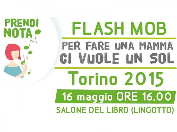 Mamme in sol e Il Flash Mob