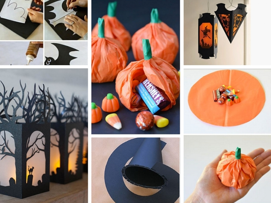 8 idee creative per halloween da realizzare con la carta for Creare cose in casa