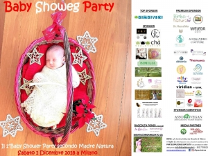 Baby Showeg Party, il baby shower natural che ci piace