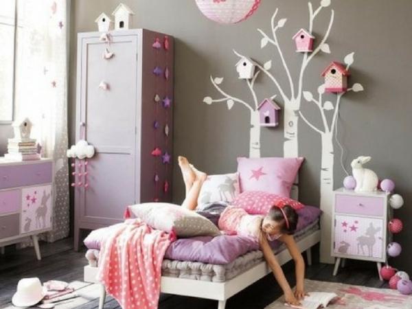 10 idee per decorare la camera di una bambina alle elementari - Camera per bambina ...