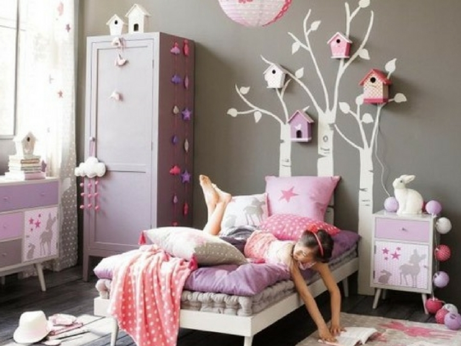 Idee Per Decorare La Camera : Idee per decorare la camera di una bambina alle elementari