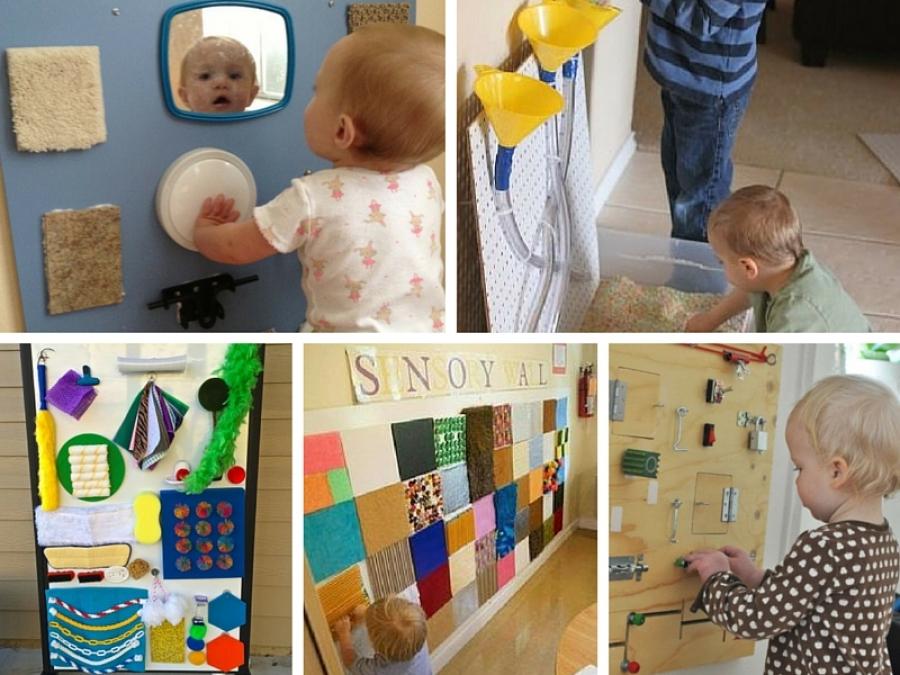 Preferenza 6 idee per creare una sensory wall montessory MQ23