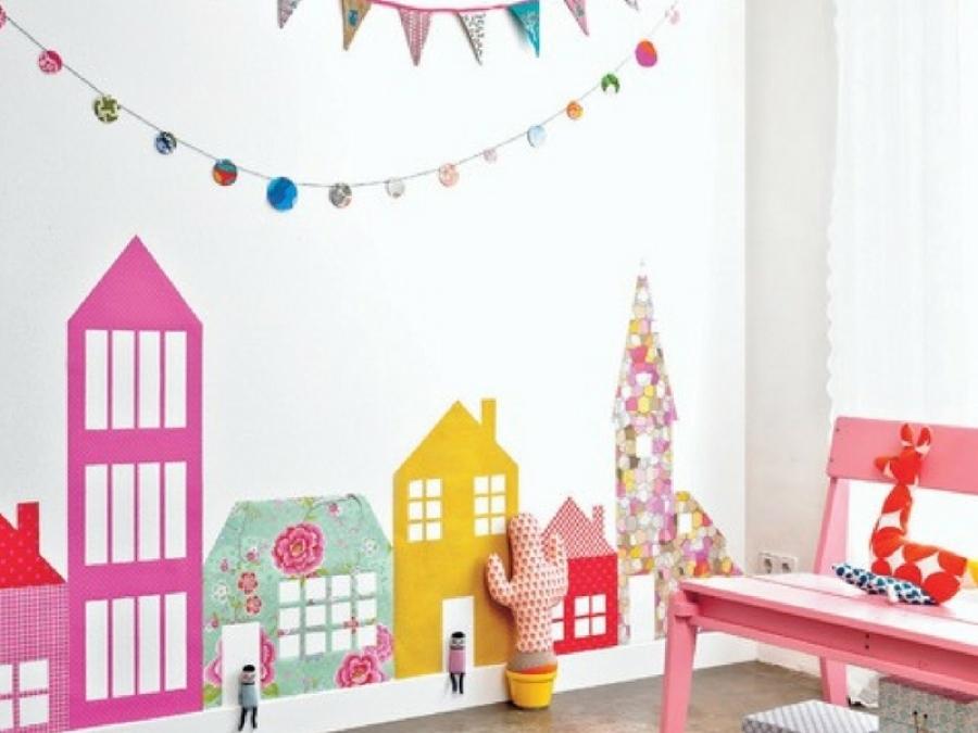 10 idee per decorare la camerata con gli adesivi - Adesivi per decorare mobili ...