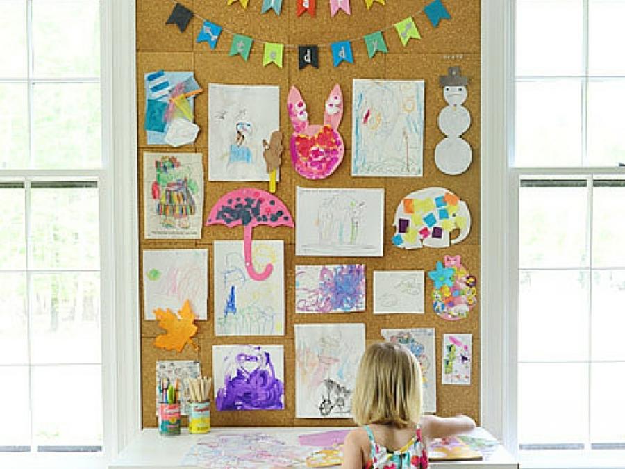 5 Idee Per Organizzare I Disegni Dei Bambini