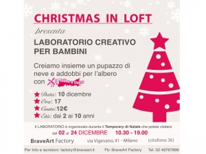 Christmas in loft a Milano