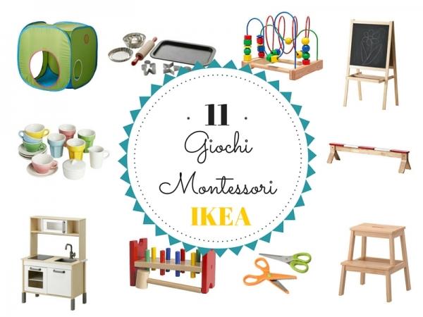 11 giochi montessori da ikea for Staccionata per bambini ikea