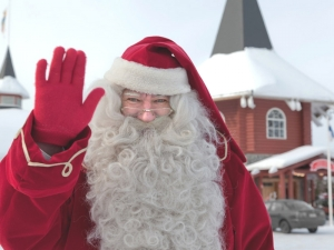 Il Santa Claus Village in Finlandia